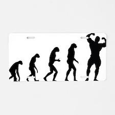 evolution body Aluminum License Plate