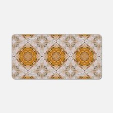 Kscope_knittingTweed_laptop Aluminum License Plate