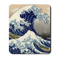 great_wave_2_ipad_case Mousepad