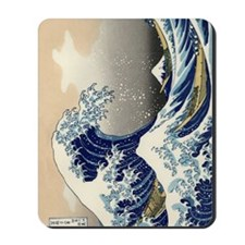 great_wave_ipad_case Mousepad