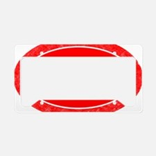 Indiana shirt template License Plate Holder