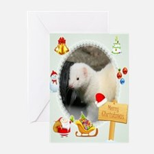 Merry Christmas DEW Greeting Cards (Pk Of 20)