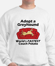 Fastest Couch Potato Sweatshirt