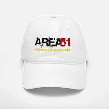 Area 51 Black Baseball Baseball Cap