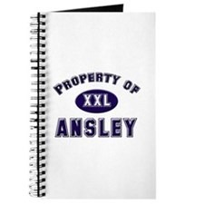 Property of ansley Journal