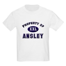 Property of ansley Kids T-Shirt