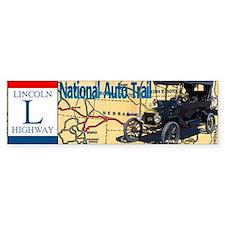 LincolnHighway-bev-2 Bumper Sticker