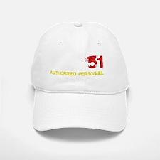 Area 51 White Baseball Baseball Cap