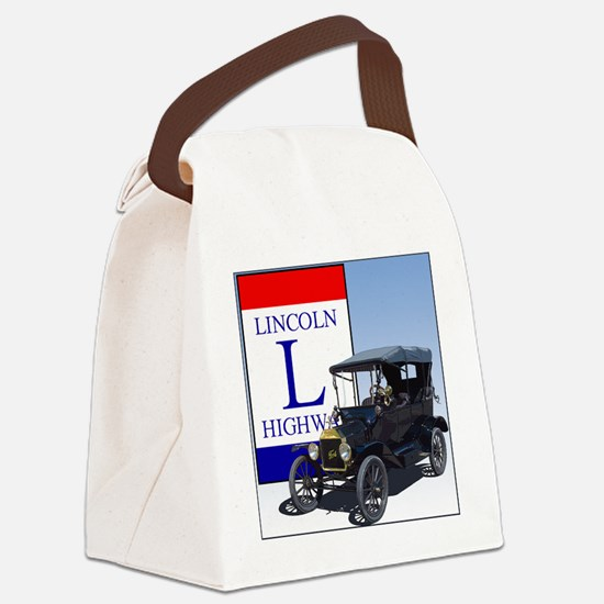 LincolnHighway-10 Canvas Lunch Bag