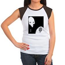 FlipFlop_PunkSkull_Spec Women's Cap Sleeve T-Shirt