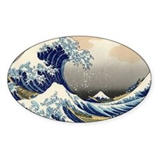 great_wave_laptop_skin Decal