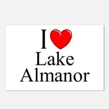"""""""I Love Lake Almanor"""" Postcards (Package of 8)"""