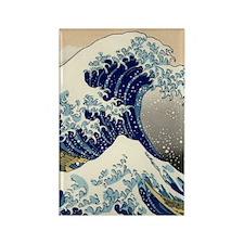 great_wave_v_ipad2_case Rectangle Magnet