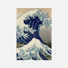 great_wave_v_ipad2_case Rectangle Magnet