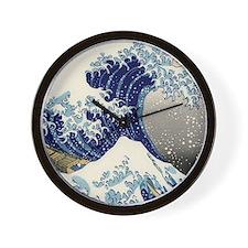 great_wave_v_ipad2_case Wall Clock