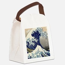great_wave_v_ipad2_case Canvas Lunch Bag
