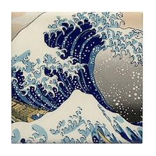 great_wave_v_ipad2_case Tile Coaster