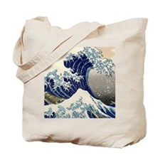 great_wave_v_ipad2_case Tote Bag