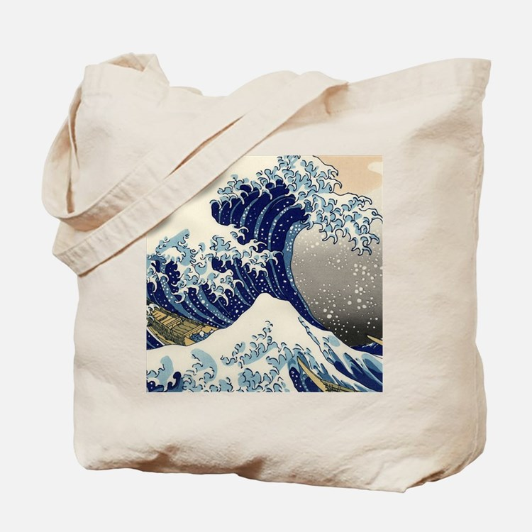 great_wave_v_ipad2_case Tote Bag