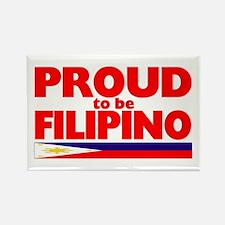 PROUD FILIPINO Rectangle Magnet