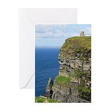 Ireland 01 text Greeting Card