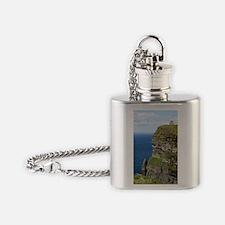 Ireland 01 text Flask Necklace