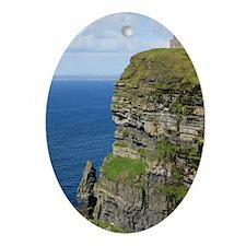 Ireland 01 text Oval Ornament