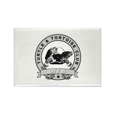 DFW Turtle & Tortoise Club Rectangle Magnet