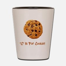 Cookie Brown Shot Glass