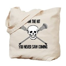 Lacrosse Never Saw Tote Bag