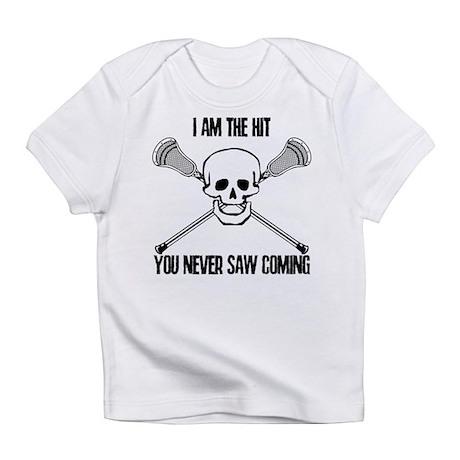 Lacrosse Never Saw Infant T-Shirt