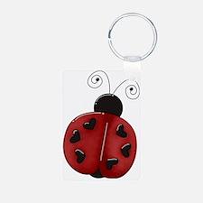 ladybug1b Keychains