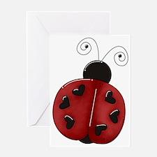 ladybug1b Greeting Card