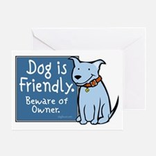 dogisfriendly Greeting Card