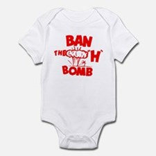 """Ban the """"H"""" Bomb - Red Infant Bodysuit"""