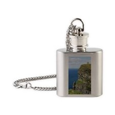 Ireland 01 no text Flask Necklace