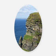 Ireland 01 no text Oval Car Magnet