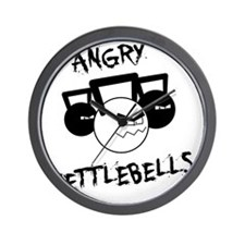 angry_white Wall Clock