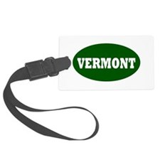 vermont template png Luggage Tag