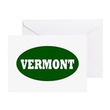 vermont template png Greeting Card