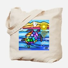 Sea Turtle 8 - square Tote Bag