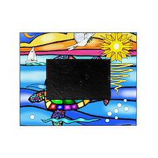 Sea Turtle 8 - square Picture Frame