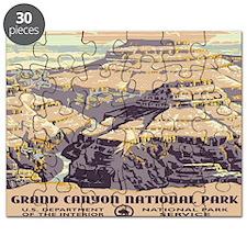 calendar_grand_canyon_wpa Puzzle