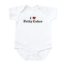 I Love Patty Cakes Infant Bodysuit
