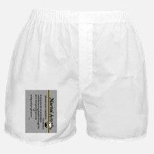 Horace Quote keychain Boxer Shorts