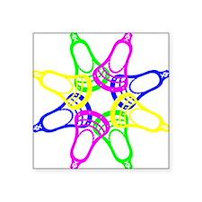 "NeonHeads Square Sticker 3"" x 3"""