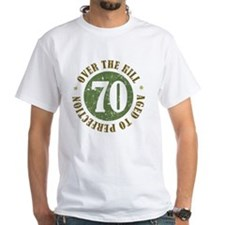 70th Birthday Over The Hill Shirt
