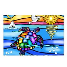 SeaTurtle 8 - MP Postcards (Package of 8)