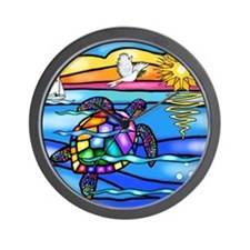 SeaTurtle 8 - MP Wall Clock