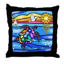 SeaTurtle 8 - MP Throw Pillow